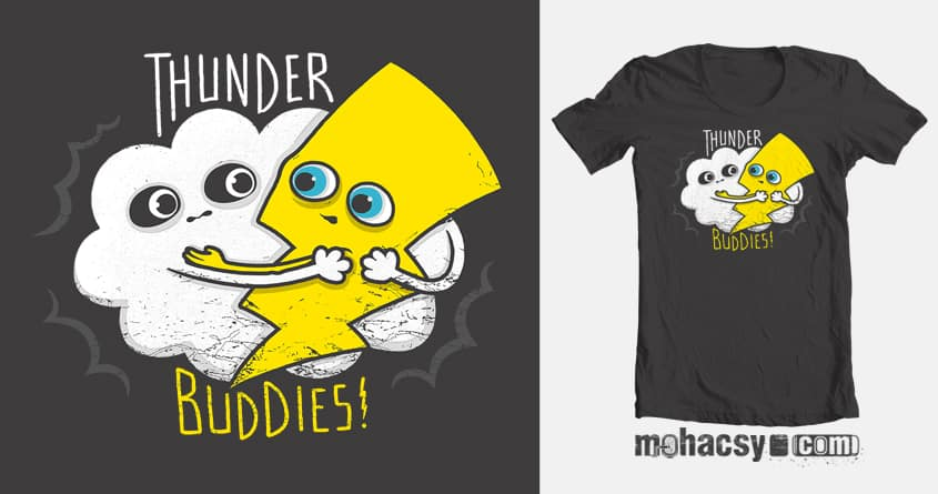 thunder buddies by Andreas Mohacsy on Threadless
