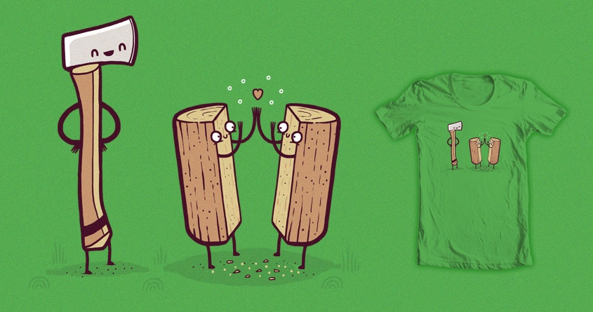 Time to split up by randyotter3000 on Threadless