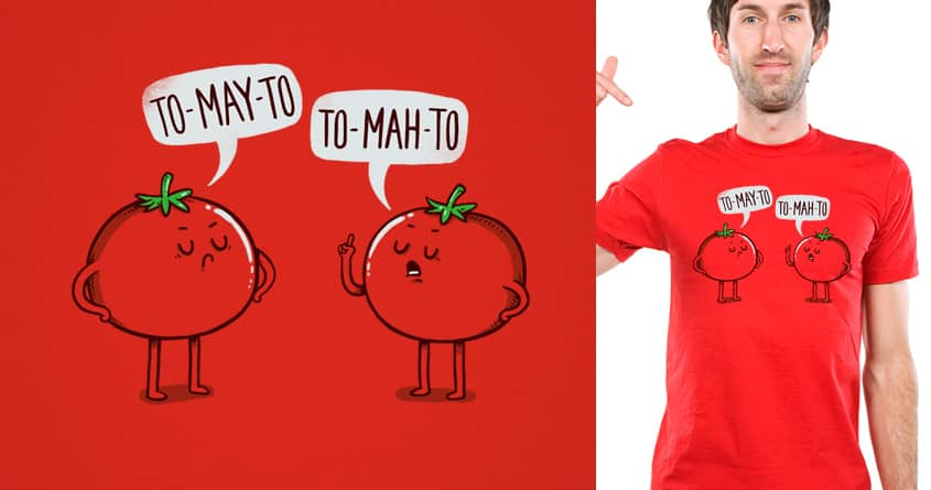 Tomato Argument by temyongsky on Threadless