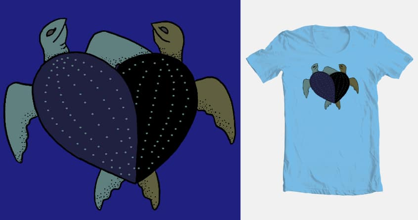 TURTLE ECLIPSE OF THE HEART by jards_mac_flards on Threadless