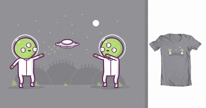 UFO by randyotter3000 on Threadless