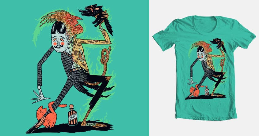 Vicious Cycle by BurritoGoblin on Threadless