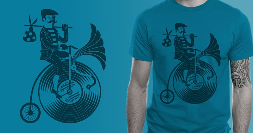 78rpm ride by gumbolimbo and ounom on Threadless