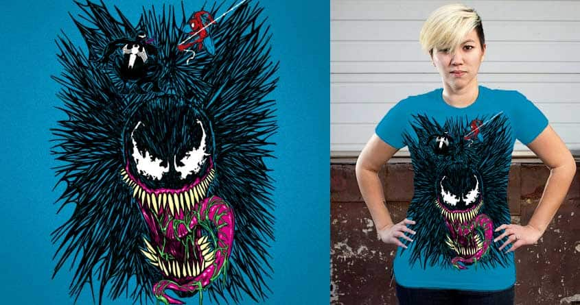 The Web of Venom by nickv47 on Threadless