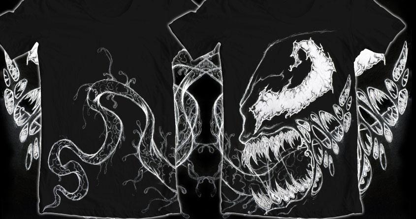 Venom (Black & White) by In Brightest Day on Threadless