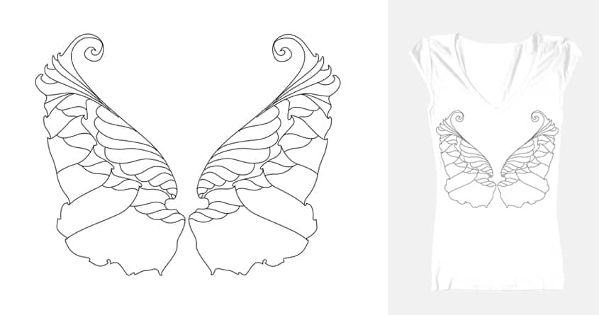 Enchanted Wing by ceylaninsel on Threadless