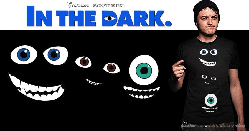In The Dark by christiansanjose on Threadless