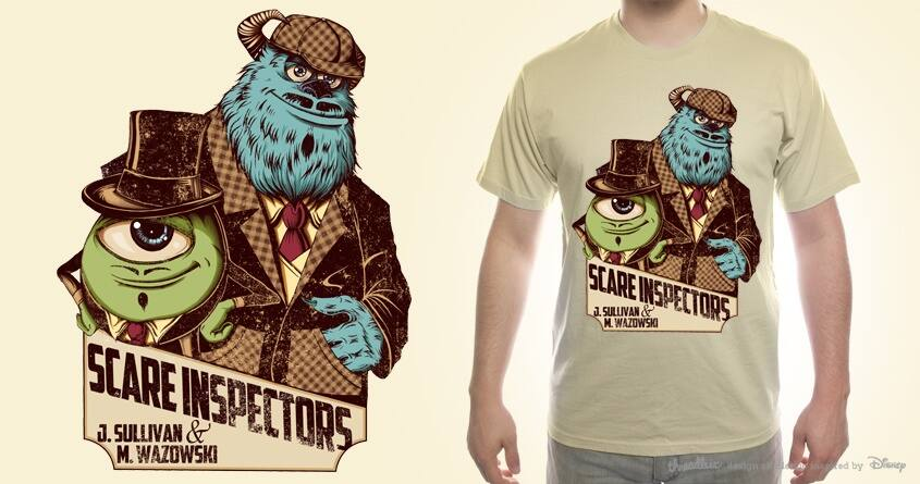 Scare Inspectors! by sweet-chilli-philly on Threadless