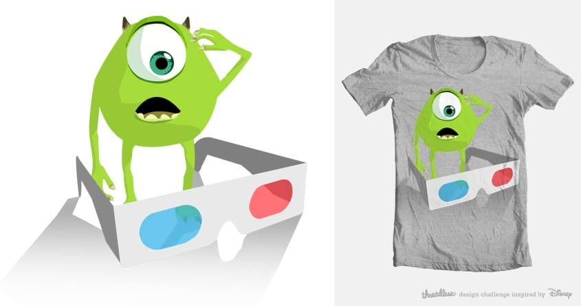 3D problem by geralttee on Threadless