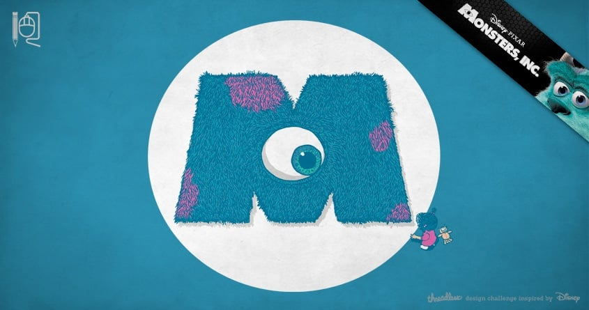 Monsters, Inc. by rodrigobhz on Threadless
