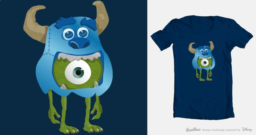Moster in Disguise by sadie_67 on Threadless