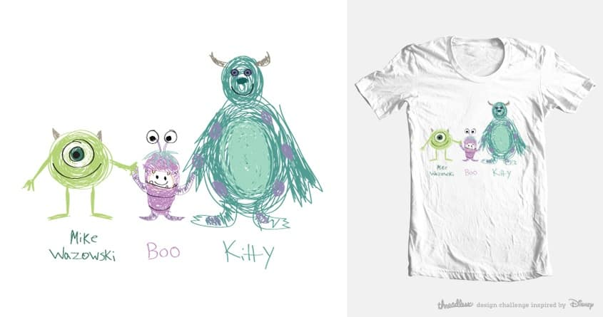 Mike,Boo,Kitty by turq99 on Threadless