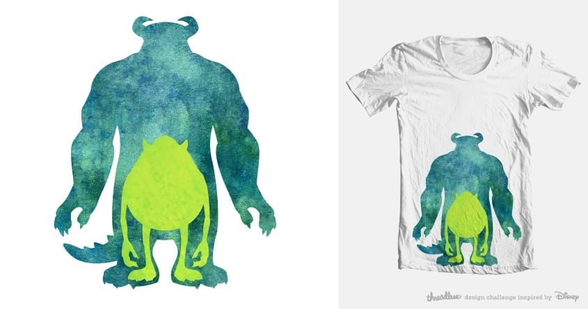 Two Of A Kind by Andr3wSal3 on Threadless