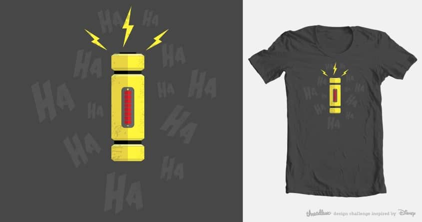 Laughter is Powerful by Andr3wSal3 on Threadless
