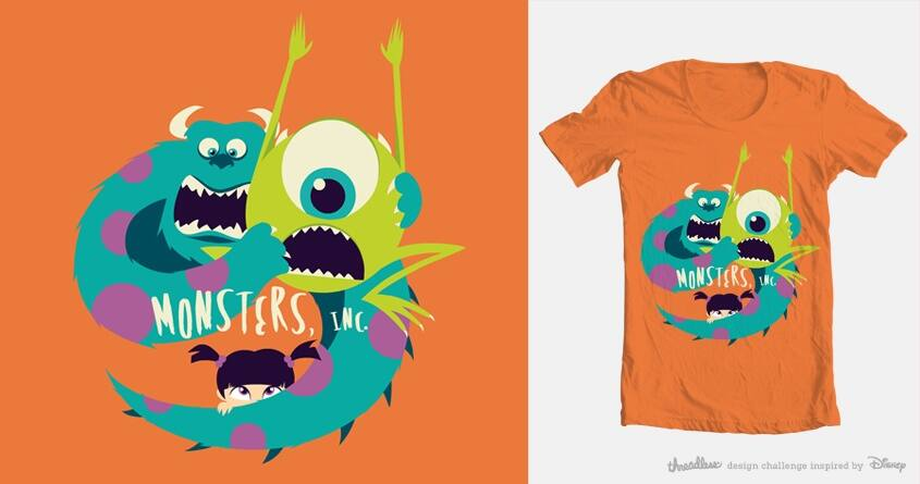 Boo! by cicca on Threadless