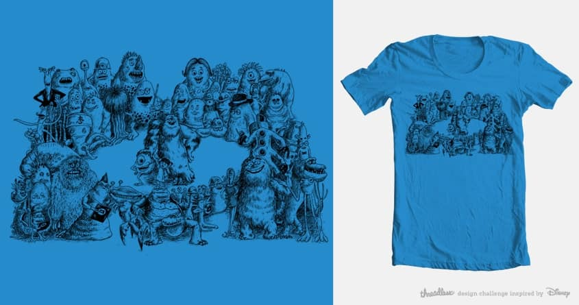 Part of a Team by salihgonenli on Threadless
