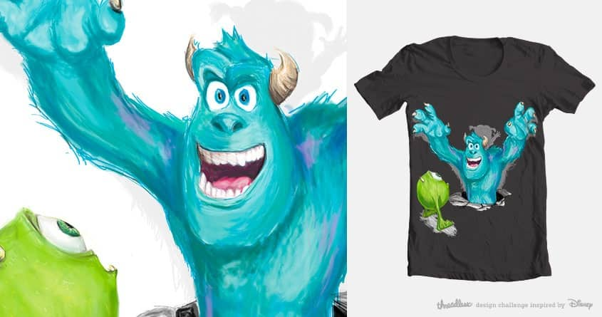 Surpriiise!! by mic.de.giovanni on Threadless