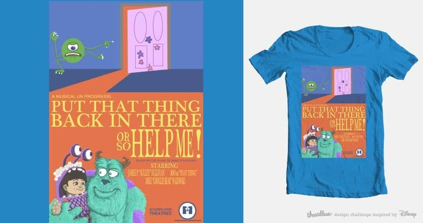 Monsterous Productions Presents by likeartcouldsaveme on Threadless
