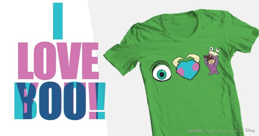 I LOVE YOU/BOO! by katersbonneville on Threadless