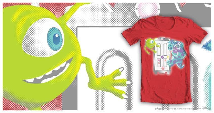 Two Monsters and a baby. by lanvinpierre on Threadless