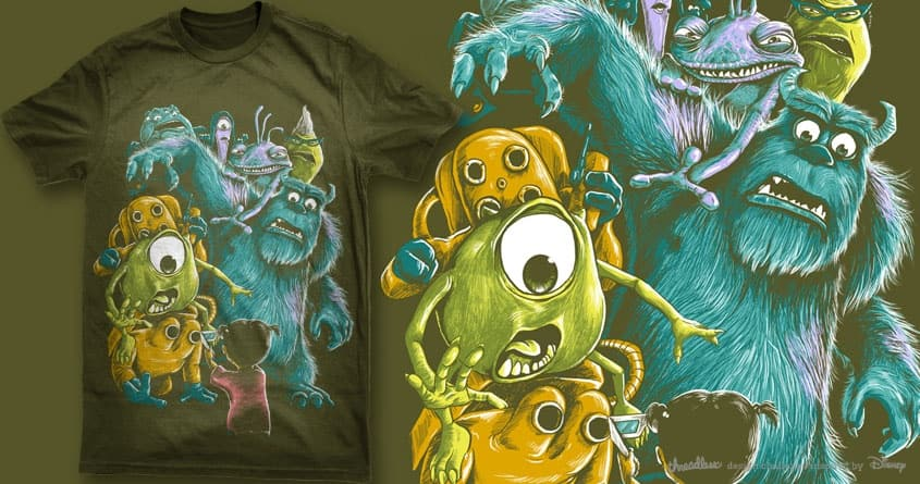 scare the scarers by bokien on Threadless