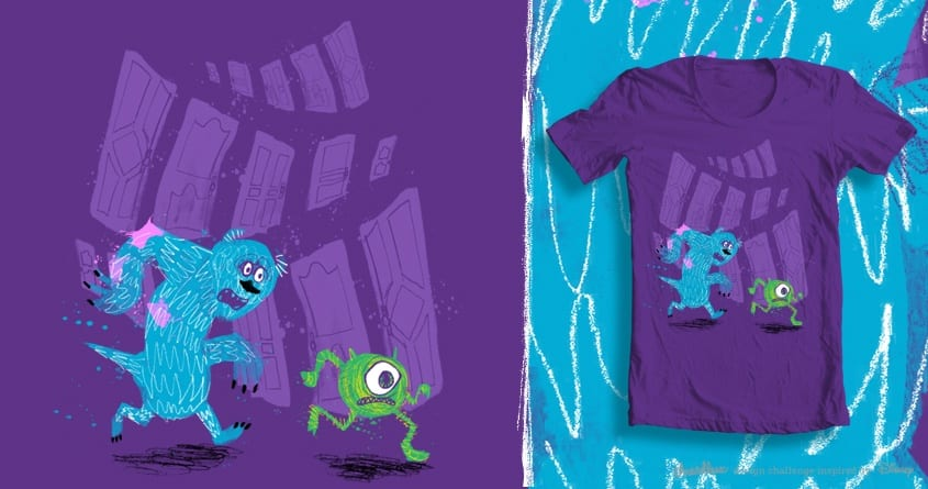 Spooked by coreyrtabor on Threadless