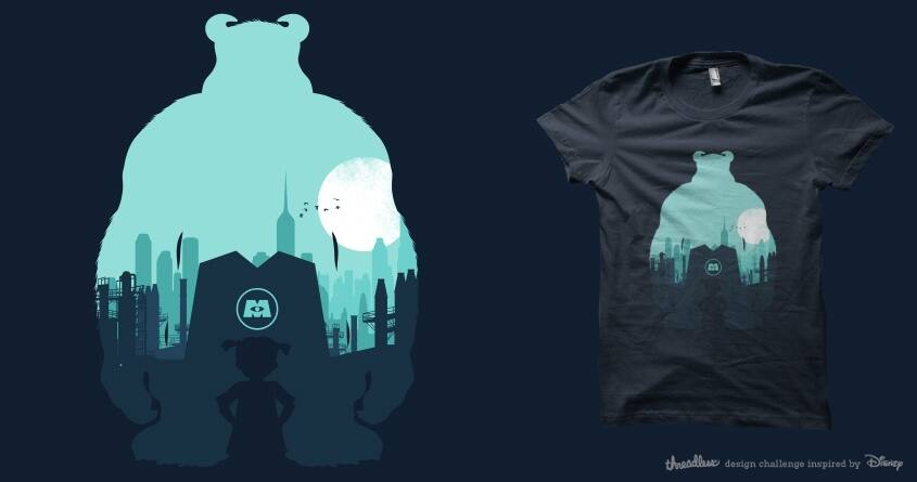 Welcome To Monsters, Inc. by filiskun on Threadless