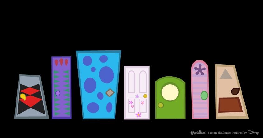 Doors Inc. by Mantichore on Threadless & Score Doors Inc. by Mantichore on Threadless