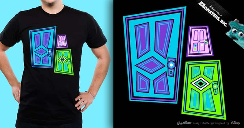 Pick A Door! by drewwise on Threadless