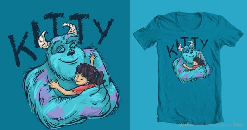 Kitty by khallion on Threadless