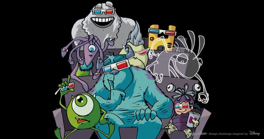 monsters movie by spike00 on Threadless