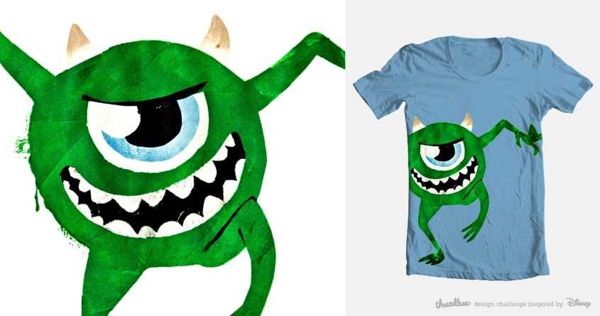 Mike the Fearsome by kitris99 on Threadless