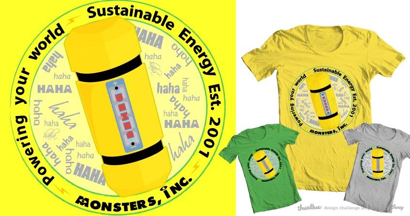 Sustainable Monster Energy by F.eva on Threadless