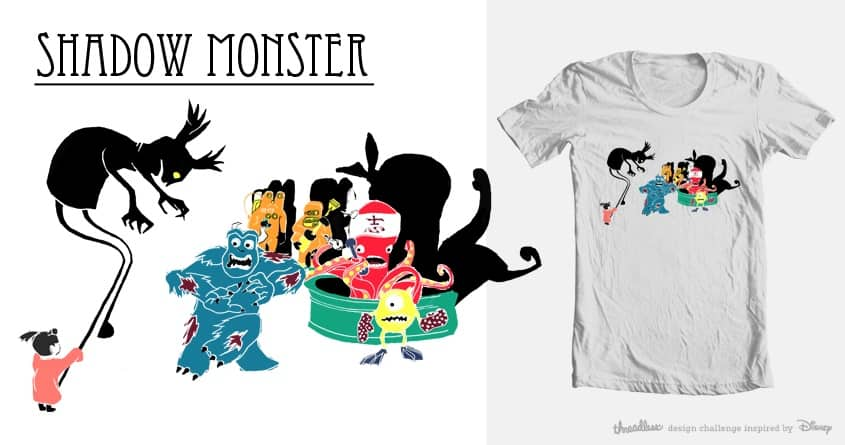 Shadow Monster by Curiocity on Threadless
