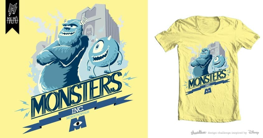 MONSTERDECO! by Malmohouse on Threadless