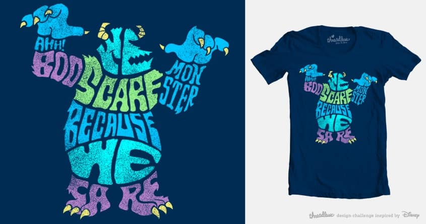 We Scare Because We Care by mofugger69 on Threadless