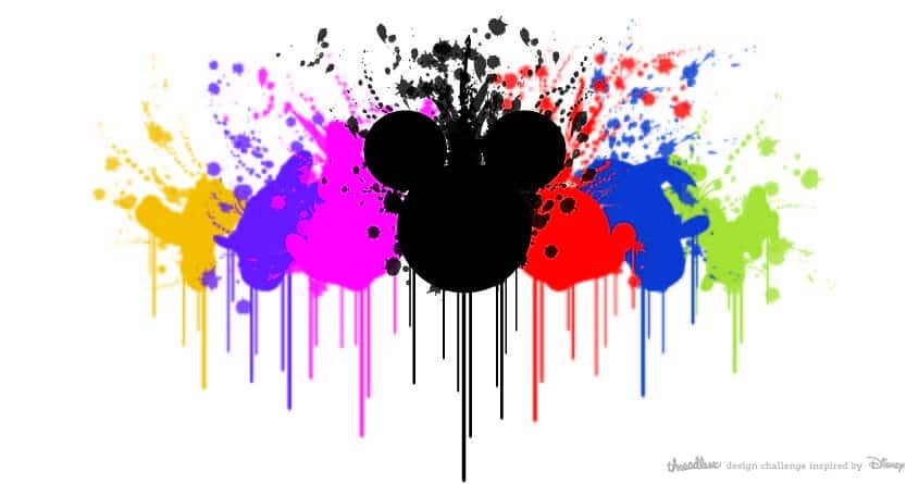 Disney Paint by ioannis.hadjikyriakou on Threadless