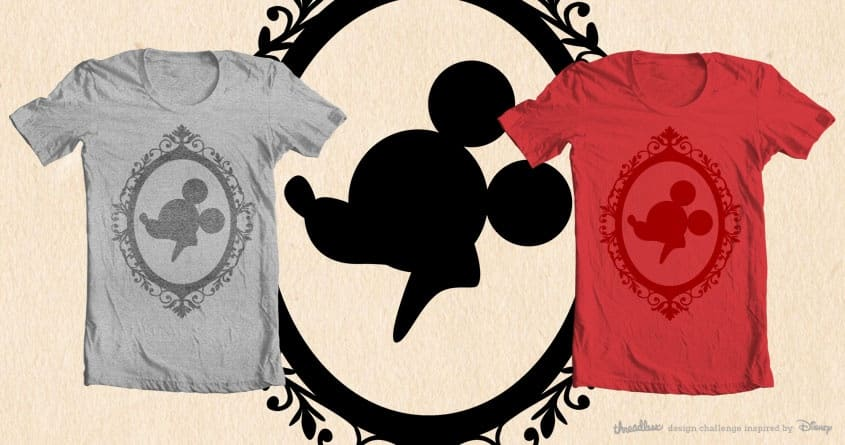 Vintage Mickey by rkalant on Threadless