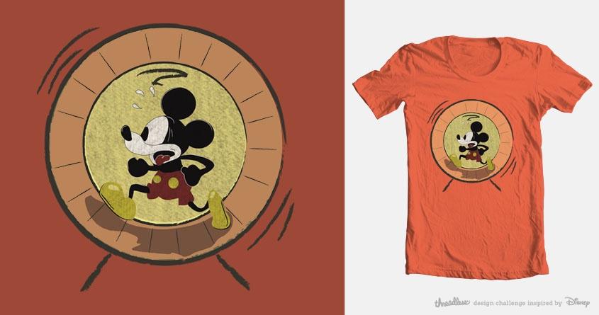 Run Mickey Run!!! by sadie_67 on Threadless