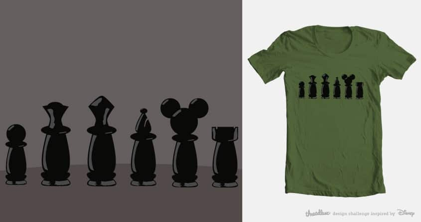 Mickey Chess by sadie_67 on Threadless