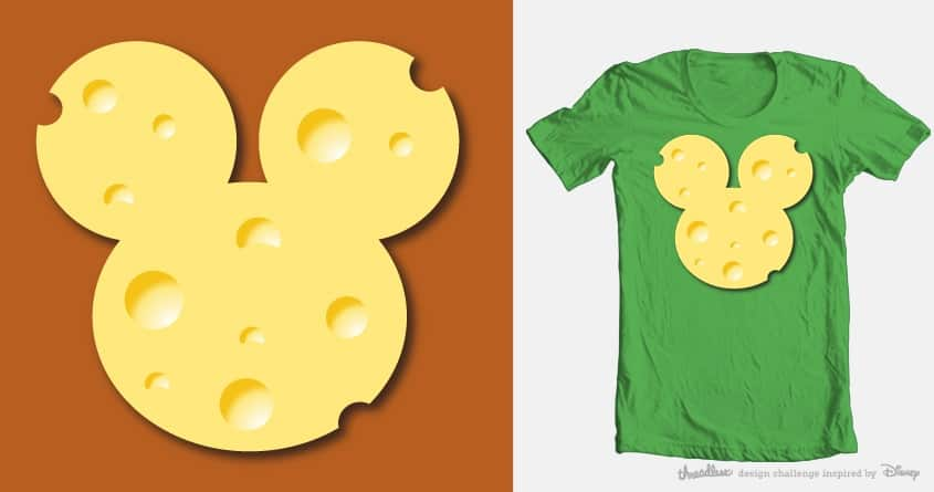 Swiss cheese by kang98 on Threadless