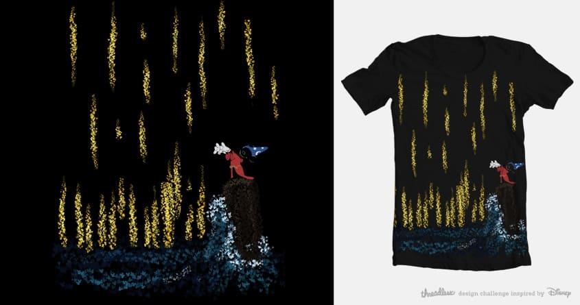 Hidden Mickey by slicen on Threadless