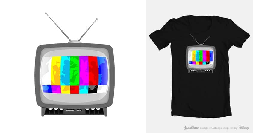 Disney TV by pelitochulo on Threadless