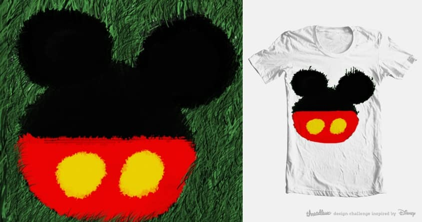 Disney shorts by paoloapolox.jurado on Threadless