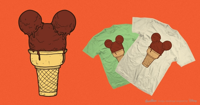 Fun with ice cream by Demented on Threadless