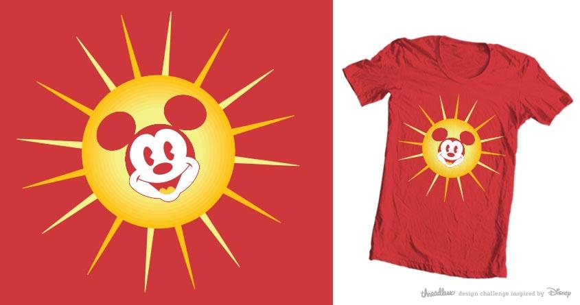 Sunshine, oh boy! by m_demmer on Threadless