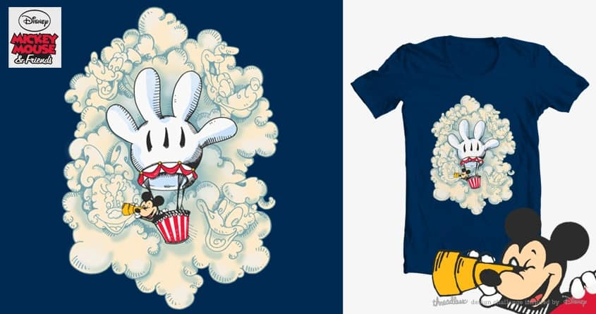 Cloud Friends by ashtrashbigash on Threadless