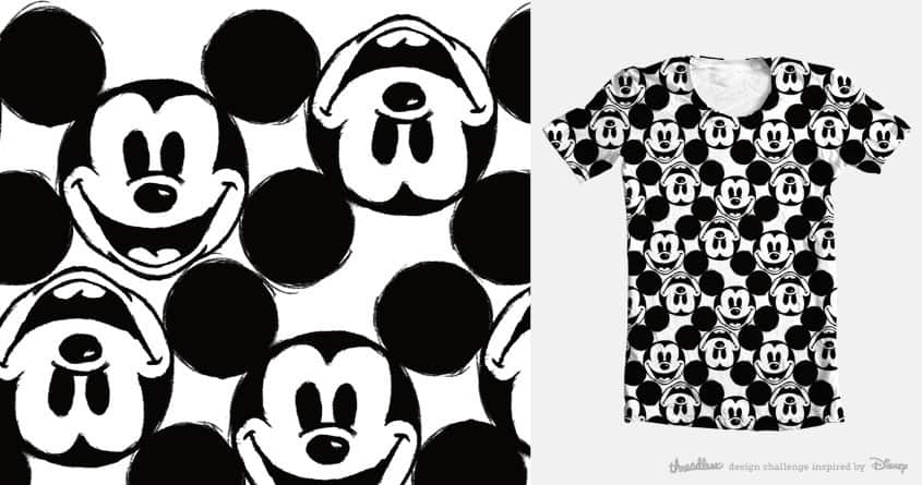Mickey Pattern by christisocool on Threadless