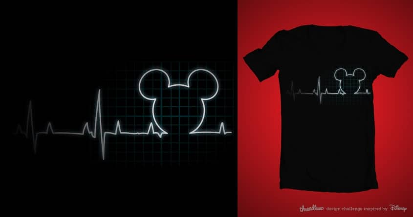 Heartbeat by pelitochulo on Threadless