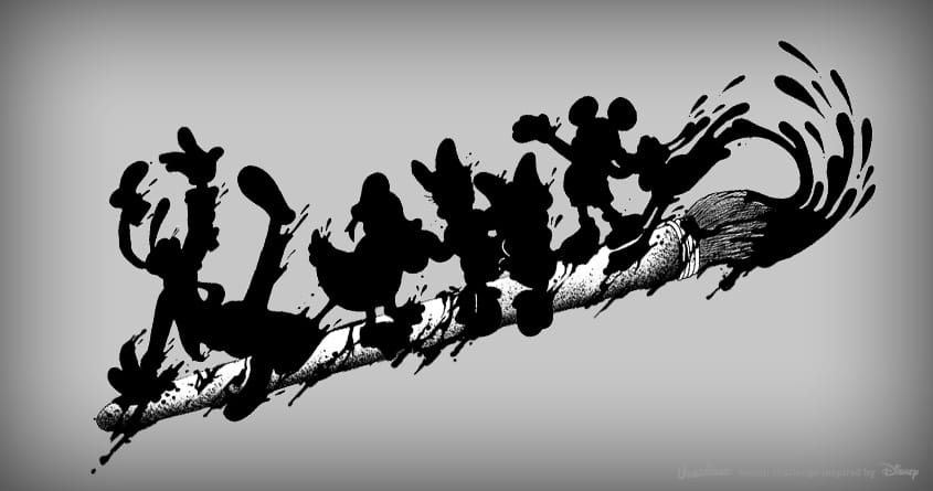 The Ink of Disney by anwarrafiee on Threadless